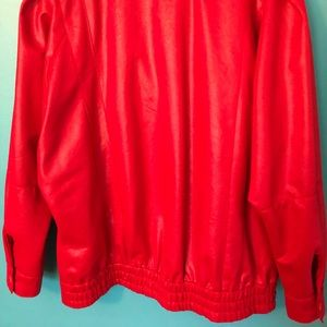 Vintage Jackets & Coats - Vintage retro 80's Halloween red jacket costume S